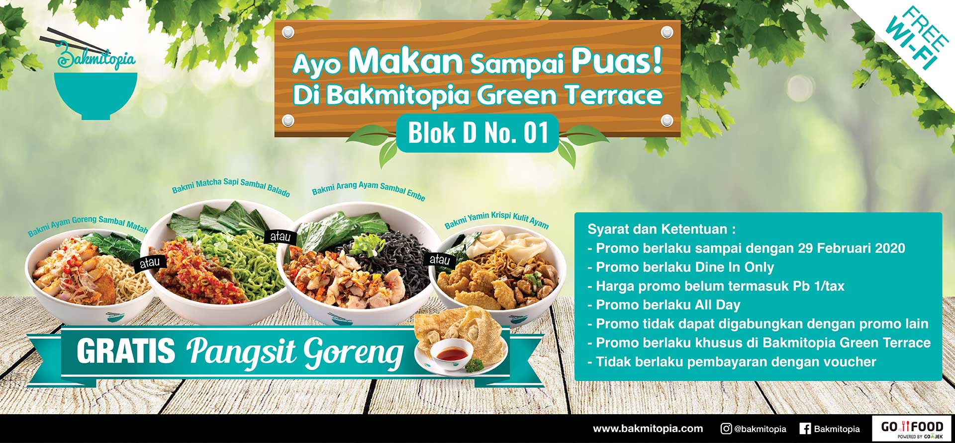 promo opening green terrace